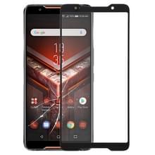 Voorkant scherm buitenste glazen lens voor ASUS ROG Phone/ZS600KL (zwart)