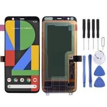LCD-scherm en digitizer volledige montage voor Google pixel 4 (zwart)