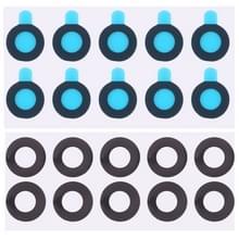 10 stuks Back Camera-Lens met Sticker voor Google Pixel 2