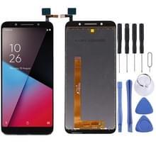 LCD-scherm en digitizer volledige montage voor Vodafone Smart VFD620 (zwart)