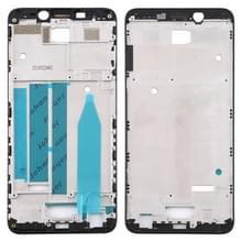 Voorzijde behuizing LCD frame bezel Plate voor Meizu M6s M712H M712Q (zwart)