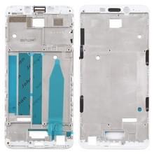 Front behuizing LCD frame bezel Plate voor Meizu M6s M712H M712Q (wit)