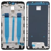 Front behuizing LCD frame bezel Plate voor Meizu Note 8 (zwart)