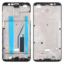 Front behuizing LCD frame bezel Plate voor Meizu M6T M811Q (zwart)