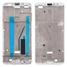 Front behuizing LCD frame bezel Plate voor Meizu M6T M811Q (wit)