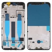 Voorzijde behuizing LCD frame bezel Plate voor Meizu 16Xs (zwart)