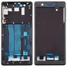 Front behuizing LCD-frame bezel plaat voor Nokia 3/TA-1020 TA-1028 TA-1032 TA-1038 (zwart)