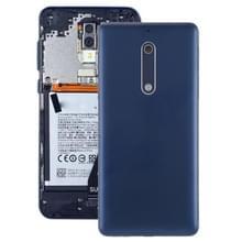 Batterij achtercover met camera lens & toetsen aan de zijkant voor Nokia 5 (blauw)
