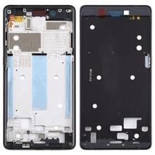 Front behuizing LCD-frame bezel plaat voor Nokia 7 TA-1041 (zwart)