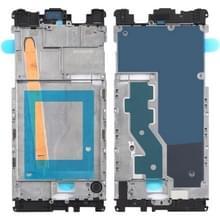 Voorzijde behuizing LCD frame bezel Plate voor Nokia 8/N8 TA-1012 TA-1004 TA-1052 (zwart)