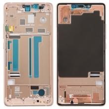 Middelste frame bezel met Zijkleutels voor Xiaomi Mi 8 SE (rosé goud)