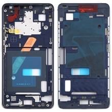 Front behuizing LCD frame bezel Plate voor Nokia 9 PureView (blauw)