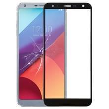 Voorkant scherm buitenste glazen lens voor LG G6 H870 H870DS H873 H872 LS993 VS998 US997 (zwart)