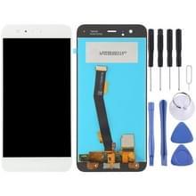 LCD-scherm en digitizer volledige assemblage voor Xiaomi MI 6 (wit)