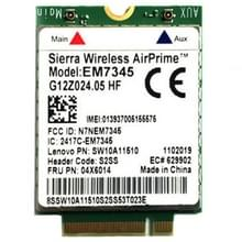 EM7345 4G-Module NGFF M.2 WWAN kaart 04 x 6014 4 G LTE / HSPA + 42Mbps-kaart voor Lenovo IBM / ThinkPad T450 / X240