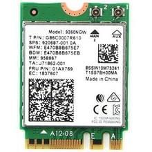 9260NGW merk nieuw voor Intel Dual Band Wireless-AC 9260AC Bluetoth 5.0 5G 1730Mbps Wifi netwerk kaart PK 8265 / 7260 / 8260