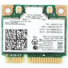 Dual Band Wireless Wifi-kaart voor Intel 7260HMW PCI-E Mini 2 4 G / 5Ghz WLAN Bluetooth 4.0 Wifi Card 802.11 ac / a / b / g / n
