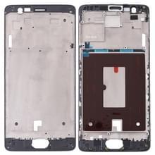 Voorzijde huisvesting LCD Frame Bezel plaat voor OnePlus 3 / 3T / A3003 / A3000 / A3100(Black)