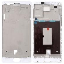 Front behuizing LCD frame bezel Plate voor OnePlus 3/3T/A3003/A3000/A3100 (wit)