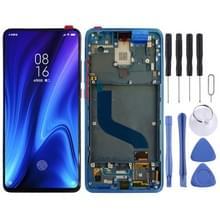 LCD-scherm en digitizer volledige assemblage met frame voor Xiaomi K20 / K20 Pro / 9T Pro (Blauw)