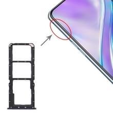 SIM-kaart lade + SIM-kaart lade + micro SD-kaart lade voor OPPO Realme x2 (paars)