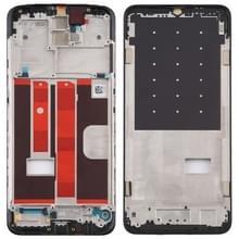Front behuizing LCD frame bezel Plate voor OPPO A11 (zwart)