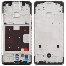 Front behuizing LCD frame bezel plaat voor OPPO K3 (zwart)