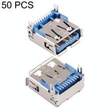 50 PCS USB 3.0 AF SMT Connector Socket