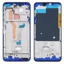 Front Housing LCD Frame Bezel Plate for Xiaomi Redmi K30  4G Version (Blue)
