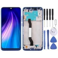 LCD-scherm en Digitizer Volledige assemblage met frame voor Xiaomi Redmi Note 8 (Blauw)