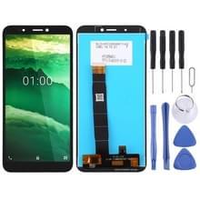 LCD-scherm en digitizer volledige assemblage voor Nokia C1 (Zwart)