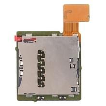 Enkele SIM Card Socket Flex kabel voor Sony Xperia T2 Ultra