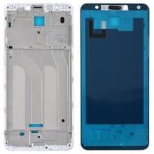 Front behuizing LCD-frame bezel voor Xiaomi Redmi 5 (wit)