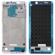 Front behuizing LCD-frame bezel voor Xiaomi Redmi Note 5 (wit)
