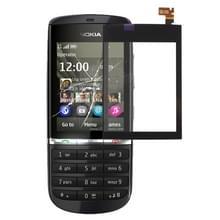 Touch paneel voor Nokia Asha 300(Black)