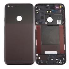 De dekking van de batterij terug voor Google Pixel / Nexus S1 (zwart)
