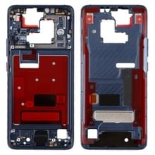 Front behuizing LCD frame bezel plaat met Zijkleutel voor Huawei mate 20 Pro (blauw)