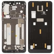 Middelste frame bezel plaat met kant toetsen voor Xiaomi mi mix 3 (zwart)
