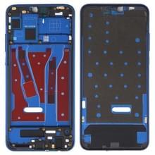 Front behuizing LCD frame bezel plaat voor Huawei Honor 8X (blauw)