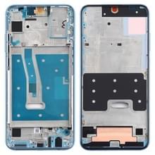 Front behuizing LCD frame bezel plaat voor Huawei Honor 10 Lite (blauw)