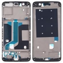Voorzijde behuizing LCD frame bezel Plate voor OnePlus 5 (zwart)