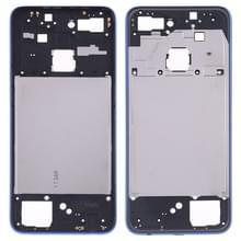 Middelste omlijsting plaat voor OPPO F9/A7X (blauw)
