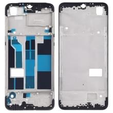 Front behuizing LCD frame bezel plaat voor OPPO F9/A7X (zwart)