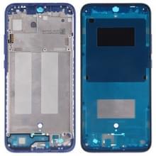 Middelste frame bezel plaat met kant toetsen voor Xiaomi Redmi 7 (blauw)