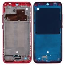 Middelste frame bezel plaat met kant toetsen voor Xiaomi Redmi 7 (rood)