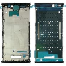 Voorzijde huisvesting LCD Frame Bezel voor Sony Xperia XA2 Plus(Black)