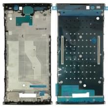 Front behuizing LCD-frame bezel voor Sony Xperia XA2 plus (goud)