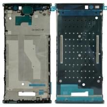 Front behuizing LCD-frame bezel voor Sony Xperia XA2 plus (blauw)