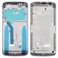 Front Housing LCD Frame Bezel voor Motorola Moto E5 (Grijs)