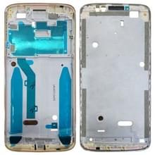 Front behuizing LCD-frame bezel voor Motorola Moto G6 Play (goud)